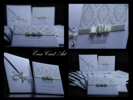 Einladungskarte Hochzeit - Sarah