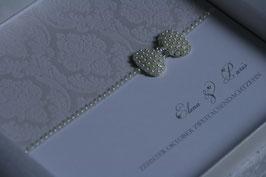 Einladungskarte Hochzeit Paris