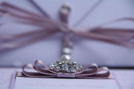 Einladungskarte Hochzeit Perle