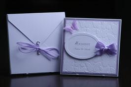 Einladungskarte Hochzeit Schmetterling Giulia & David