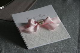 Einladungskarte Hochzeit - Ilona