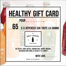 Gift Card 65€