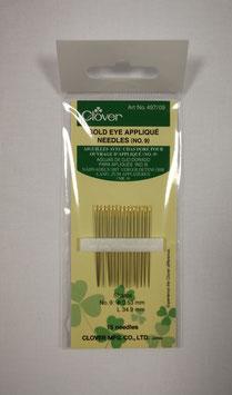 Clover Applicatie naalden Gold Eye no.9