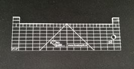 Rechte liniaal 8''x2''