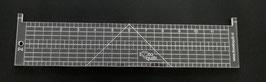 Rechte liniaal 12''-longarm