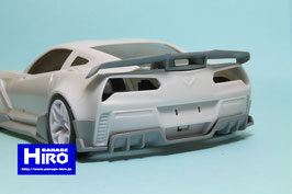 GHA186  Rear Diffuser Ver.1 for Chevrolet Corvette ZR1