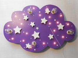 """Deckenleuchte """"STARS"""" lila"""