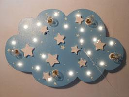 """Deckenleuchte """"STARS"""" hellblau"""