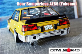 AE86 Bumperless rear