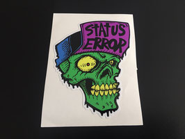 Status Error Skull