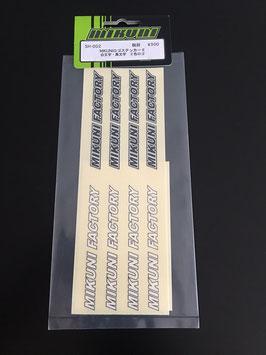 Mikuni Sticker Pack #2