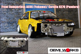 AE86 / KE70 Bumperless front