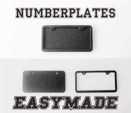 EasyMade License plate holder