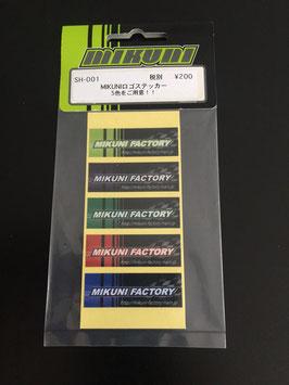 Mikuni Sticker Pack #1