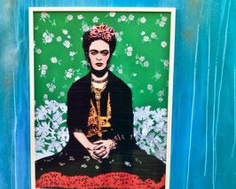 """Mixedmedia """"Frida Kahlo"""""""