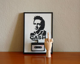 "TAPEART  Kassettenbild  : ""Cash"""