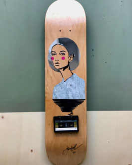 "TAPEART  Skateboard  : ""Shine"""