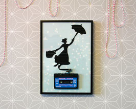"TAPEART  Kassettenbild  : ""Mary"""