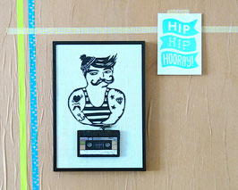 "TAPEART  Kassettenbild  : ""Little Seaman"""
