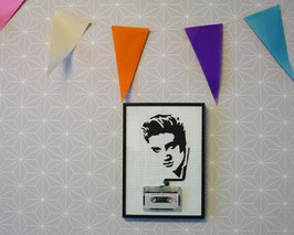 "TAPEART  Kassettenbild  : ""Elvis"""