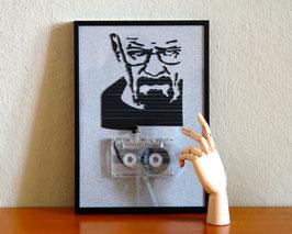 """TAPEART  Kassettenbild  : """"Walter"""""""