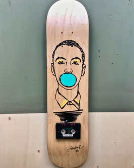 "TAPEART  Skateboard  : ""Bubble"""