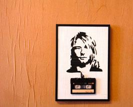 """TAPEART  Kassettenbild  : """"Kurt"""""""