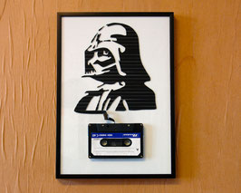 "TAPEART  Kassettenbild  : ""Darth2"""