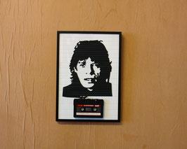 """TAPEART  Kassettenbild  : """"Jagger"""""""
