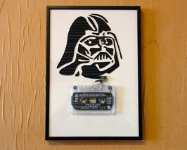 "TAPEART  Kassettenbild  : ""Darth1"""