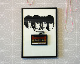 "TAPEART  Kassettenbild  : ""Beatles"""