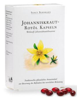 Johanniskraut-Rotöl-Kapseln