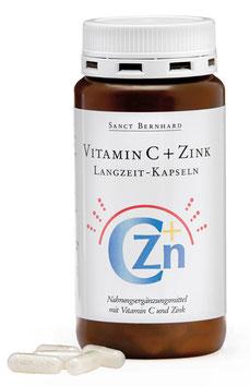 Vitamin C+Zink Langzeit · 180 Kapseln