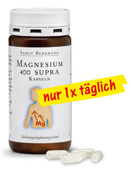 Magnesium-400-supra Kapseln