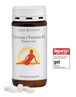 Calcium+Vitamin D3-Tabletten