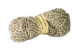 50 % Pommersches Landschaf 50 % Schafwolle (Insel Rügen) grau weiß melliert