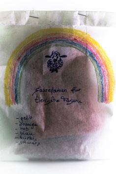 """""""Farblust""""  Säure-Farben zum Färben STARTERSET"""