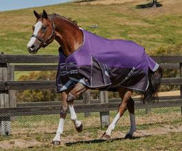 Weatherbeeta Weidedecke Comfitec Plus Dynamic 100g - violett/schwarz