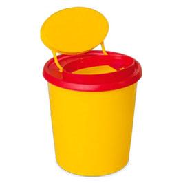 Nadel-Entsorgungsbox 1,5 l, Multi-Safe quick S, ovale Öffnung, ø 107x162 mm
