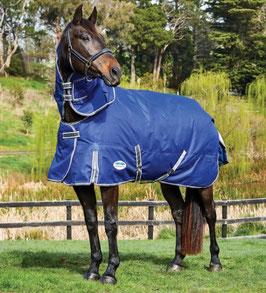 Weatherbeeta Weidedecke Comfitec Premier Free II mit abnehmbarer Halsteil 220g - blau