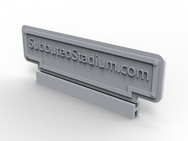Name tag for your Subbuteo / Zeugo stand or stadium
