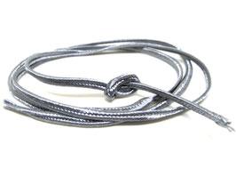 1 mètre de soutache grise 3mm - cordon plat