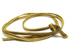 1 mètre de soutache dorée 3mm - cordon plat