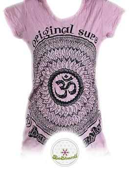 SURE Design Ladyshirt 'Be OM', altrosa