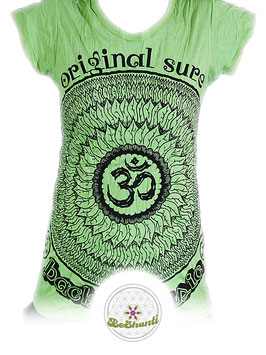 SURE Design Ladyshirt 'Be OM', hellgrün