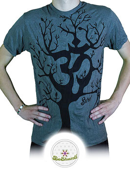 SURE Design T-Shirt 'OM Tree', grau
