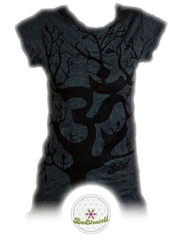 SURE Design Ladyshirt 'OM tree', grau
