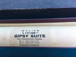 muziekrol Gipsy Suite by Edward German