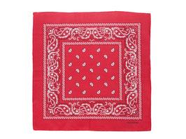 Bandana rot mit Paisley Muster auch als Mundschutz verwendbar