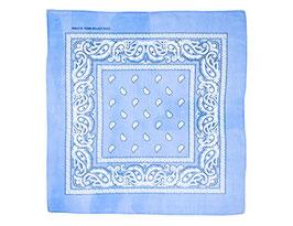 Mundschutz 3er Pack Bandana Halstuch Kopftuch hellblau